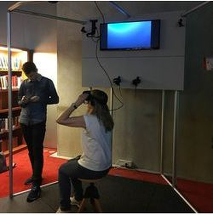 Journées du patrimoine 2018 - Dispositif de réalité virtuelle
