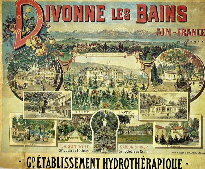 Journées du patrimoine 2018 - Visite du théâtre de Divonne.