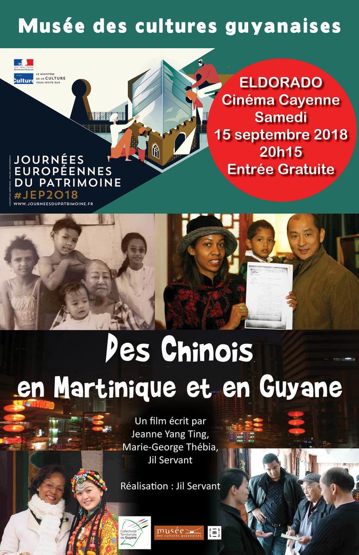 Journées du patrimoine 2018 - Documentaire « Des Chinois en Martinique et en Guyane »