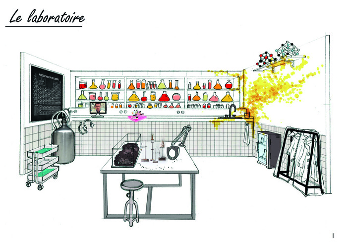 Drôles de bureaux, Drôles de labos !