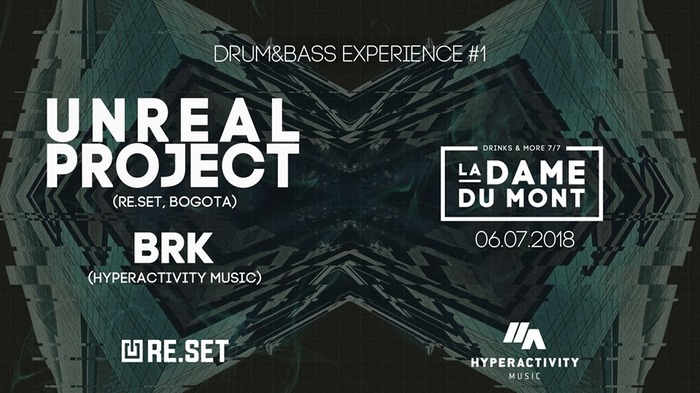 Drum&bass Experience #1 : Unreal Project + BRK