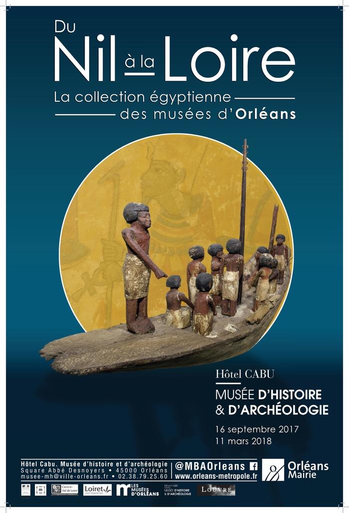 Journées du patrimoine 2017 - Du Nil à la Loire : la collection égyptienne des musées d'Orléans
