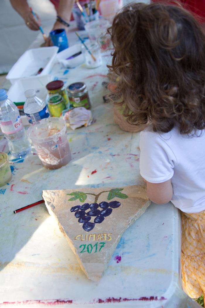Journées du patrimoine 2018 - Écrivons les Climats - Atelier créatif pour enfants au Clos de Vougeot