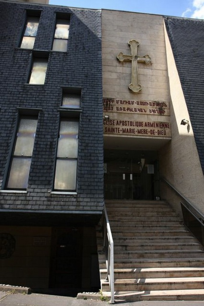 Journées du patrimoine 2017 - Visite libre de l'Église Apostolique Arménienne Sainte Marie Mère de Dieu