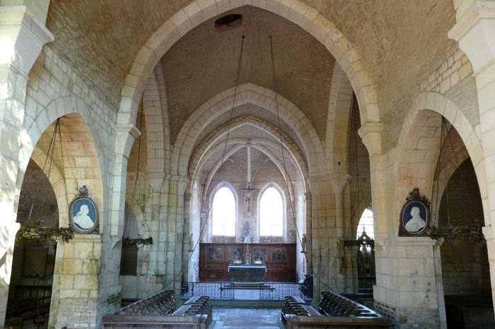 Journées du patrimoine 2017 - Eglise cistercienne de l'abbaye de La Bussière sur Ouche
