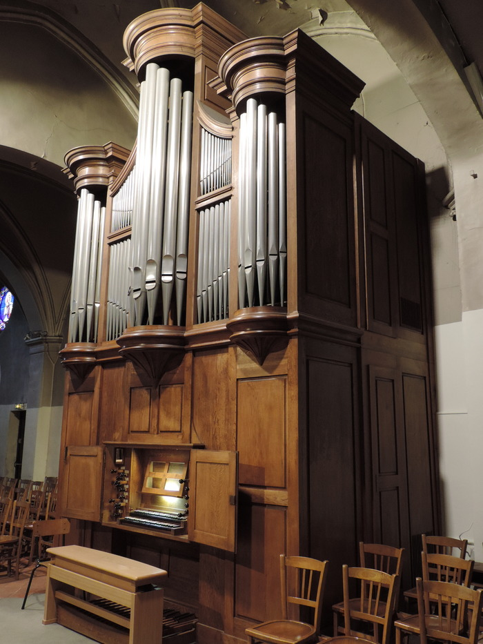 Journées du patrimoine 2018 - Présentation de l'orgue suivi d'un récital