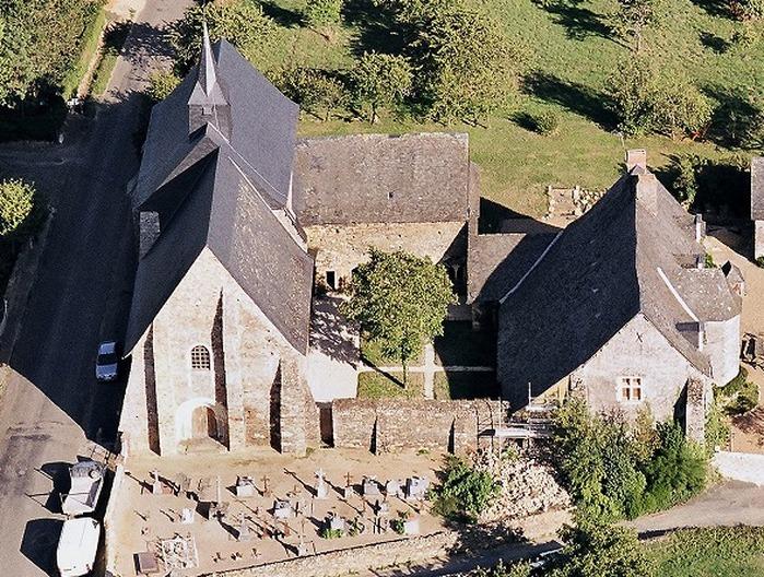Journées du patrimoine 2017 - Eglise de la Jaillette: découvrir la vie des moines au MA