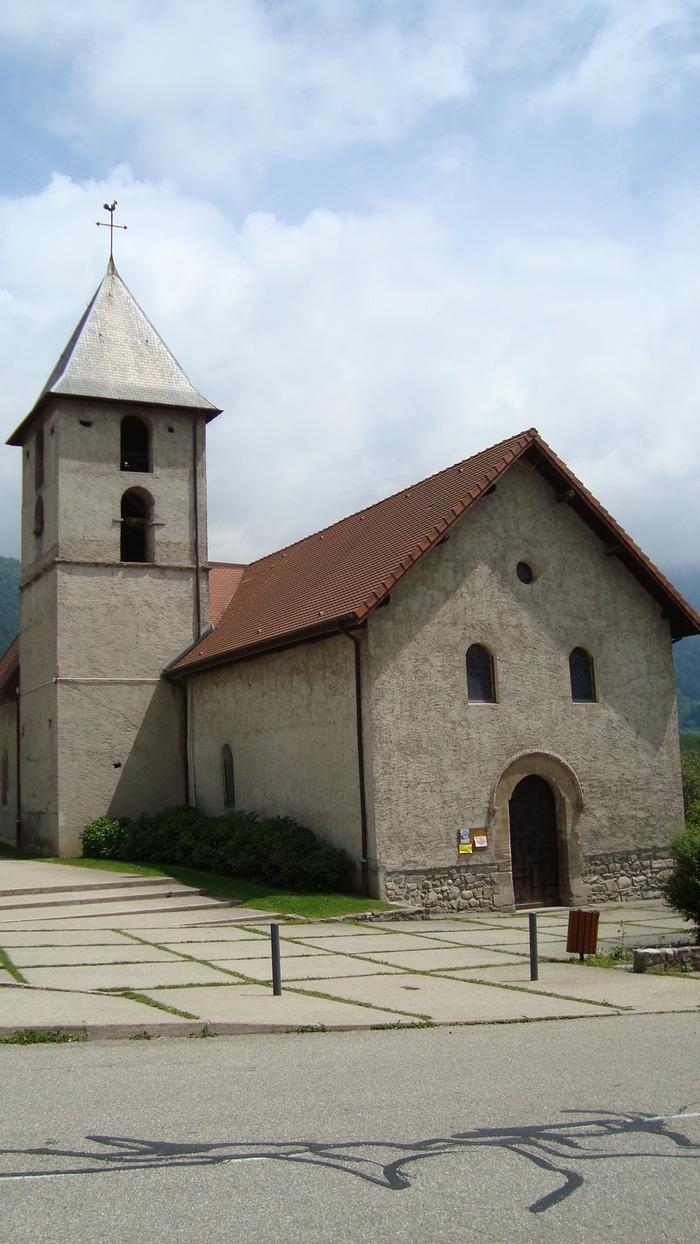 Journées du patrimoine 2018 - Visite libre de l'église de Pinet d'Uriage.