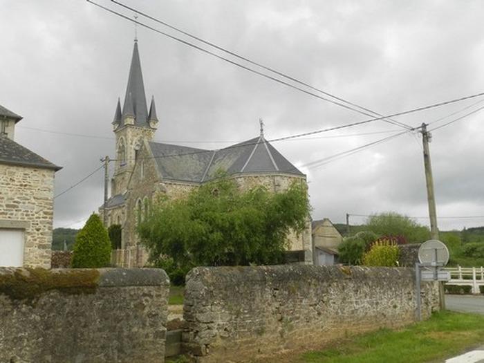 Journées du patrimoine 2018 - Eglise de Saint Julien des Eglantiers (eglise désaffectée)