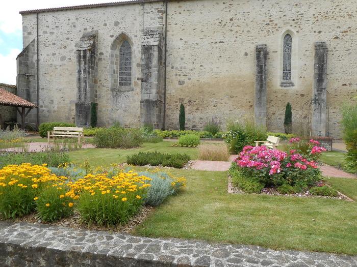 Journées du patrimoine 2017 - Découverte de l'église et du jardin du Cloître