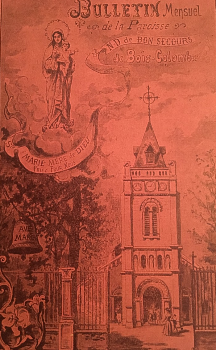 Journées du patrimoine 2018 - Visite commentée de l'église Notre-Dame de Bon-Secours à Bois-Colombes