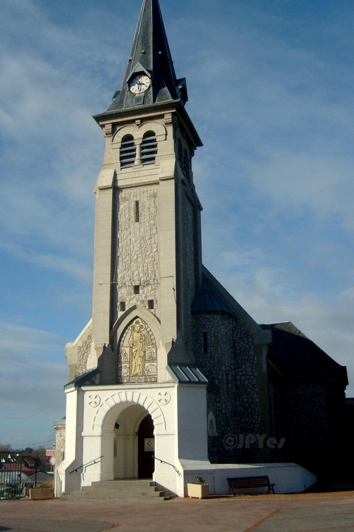 Église Notre Dame de la Mer de Camiers - Diocèse d'Arras - 62