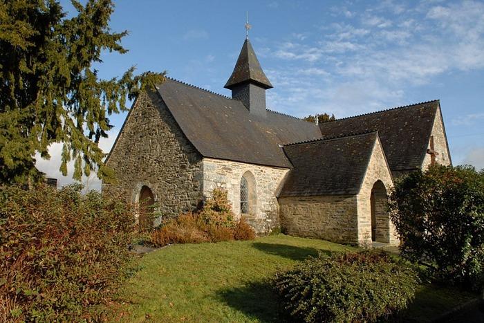 Eglise paroissiale de Sainte Brigitte - Diocèse de Vannes - 56