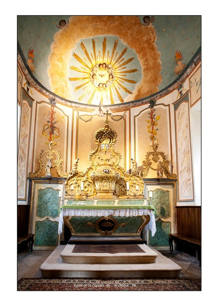 Journées du patrimoine 2017 - Visite libre de l'église Saint-Caprais