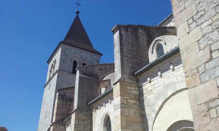 Journées du patrimoine 2017 - Visite commentée de l'Eglise Saint Christophe de Chissey sur Loue (39)