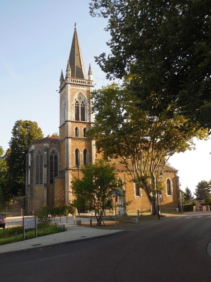 Journées du patrimoine 2018 - Visite libre de l'église Saint-Laurent de Sathonay-Village.
