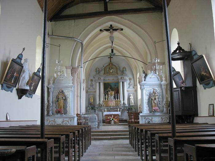 Journées du patrimoine 2019 - Visite de l'église Saint-Louvent