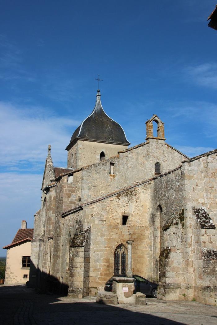 Crédits image : © Église Saint-Martial Brigueuil