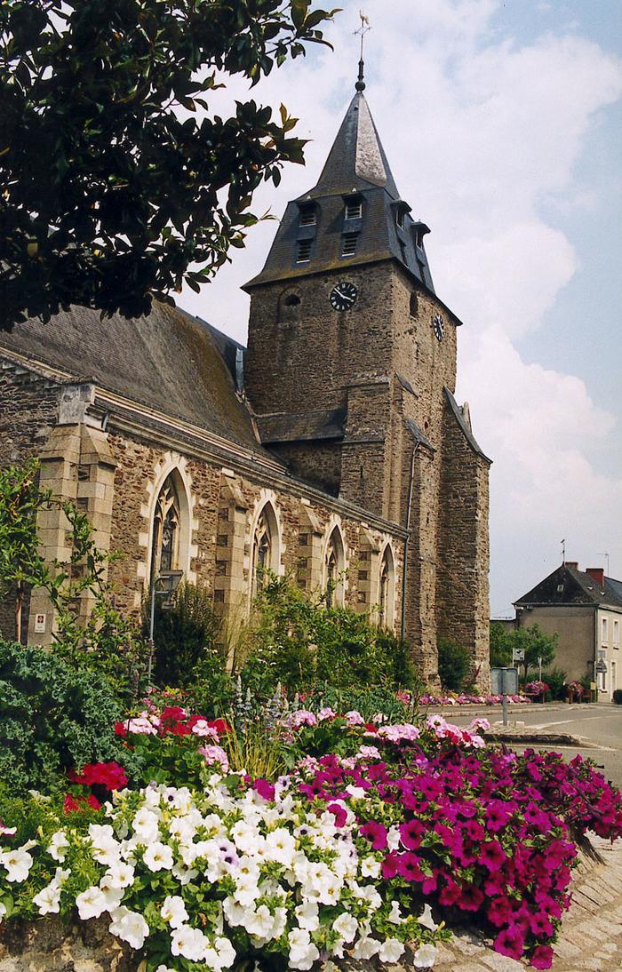 Journées du patrimoine 2017 - Visite de l'église Saint-Martin de Bazouges