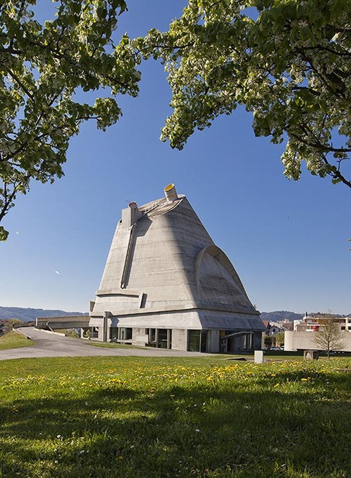 Journées du patrimoine 2018 - Eglise Saint-Pierre de Firminy-Vert.