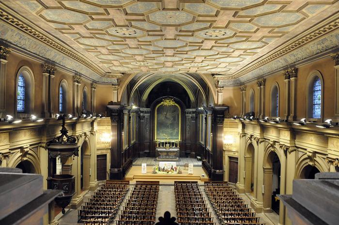 Journées du patrimoine 2018 - Visite commentée de l'église Saint-Pierre avec les Amis du Vieux St Chamond et Monsieur Goulois, architecte.