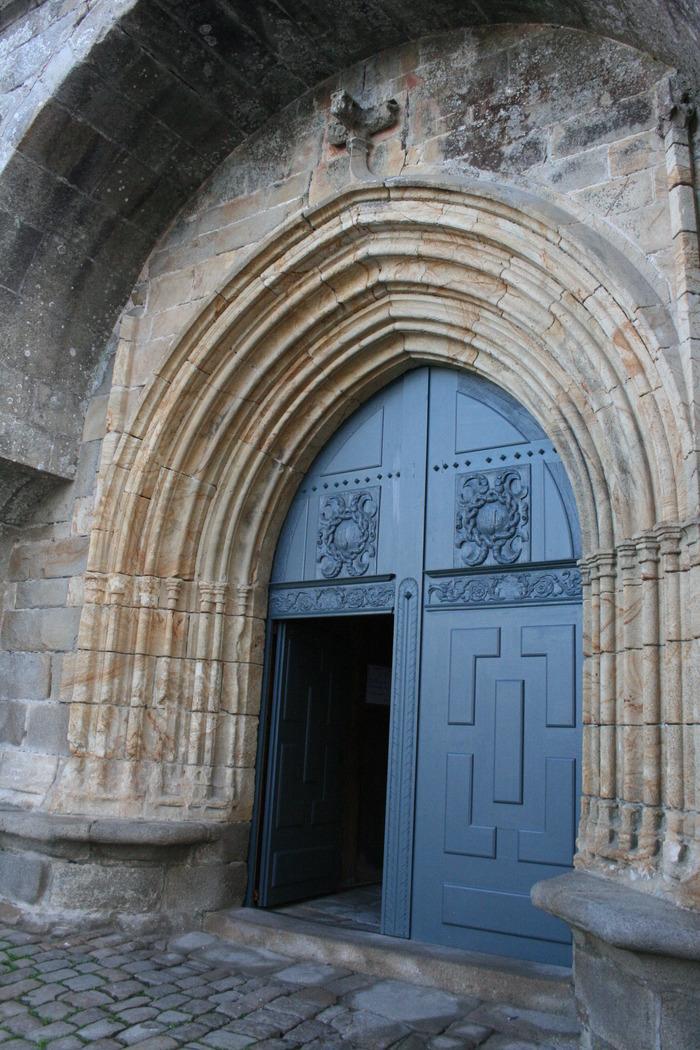 Journées du patrimoine 2018 - Eglise Saint-Sauveur : ex-voto et inscription - Auray