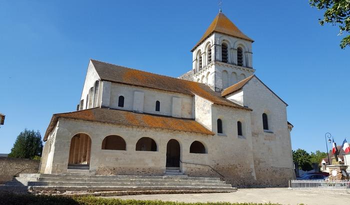 Journées du patrimoine 2019 - Découverte de l'église d'Oyré