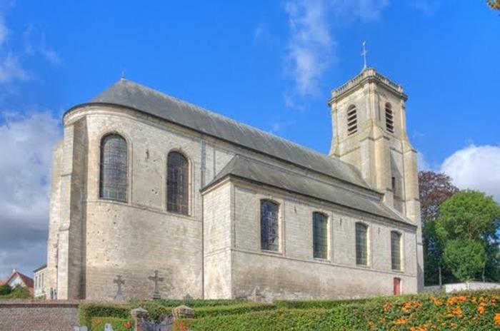 Église SAINT-VAAST de RIVIERE - Diocèse d'Arras - 62