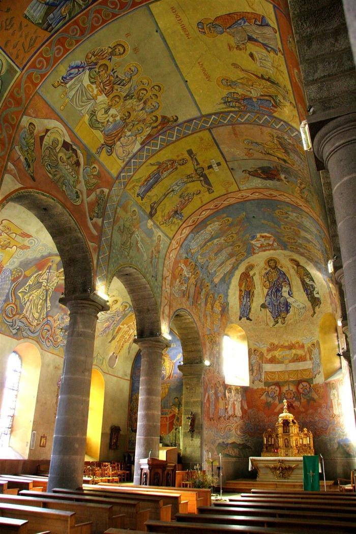 Journées du patrimoine 2018 - Visite de l'église Sainte-Anne.