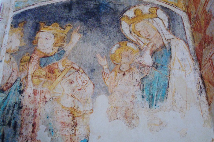 Journées du patrimoine 2019 - Découverte d'une église du XIe siècle et de ses peintures murales des XIVe et XVe siècles.