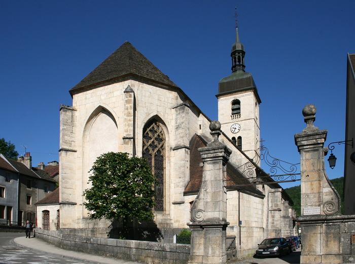 Eglise Saint Laurent d'Ornans - Diocèse de Besançon - 25