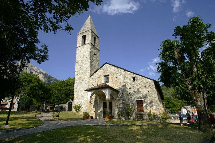 Journées du patrimoine 2017 - Eglise Ste Croix de St Dalmas Valdeblore