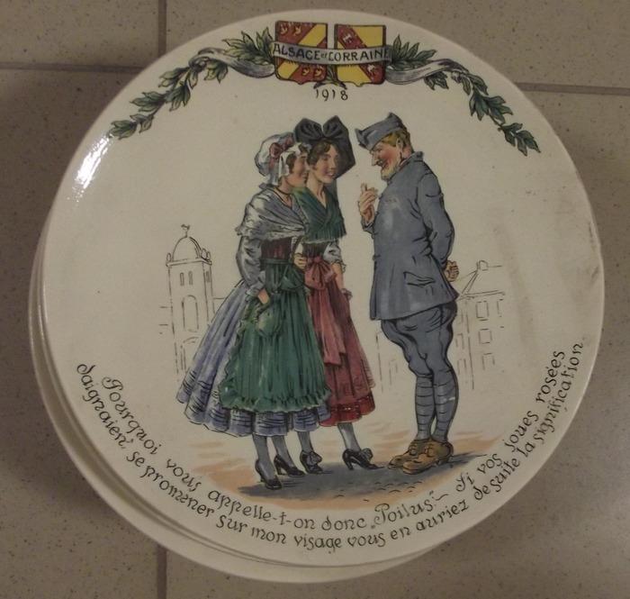 Journées du patrimoine 2018 - L'Alsace-Lorraine dans la propagande française 1914-1919