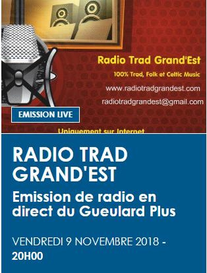 Radio Trad Grand'Est - émission en direct et en public