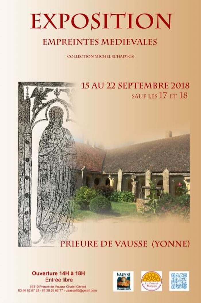 Journées du patrimoine 2018 - Empreintes médiévales : conférences sur la répartition des plates-tombes et l'art des artisans tombiers