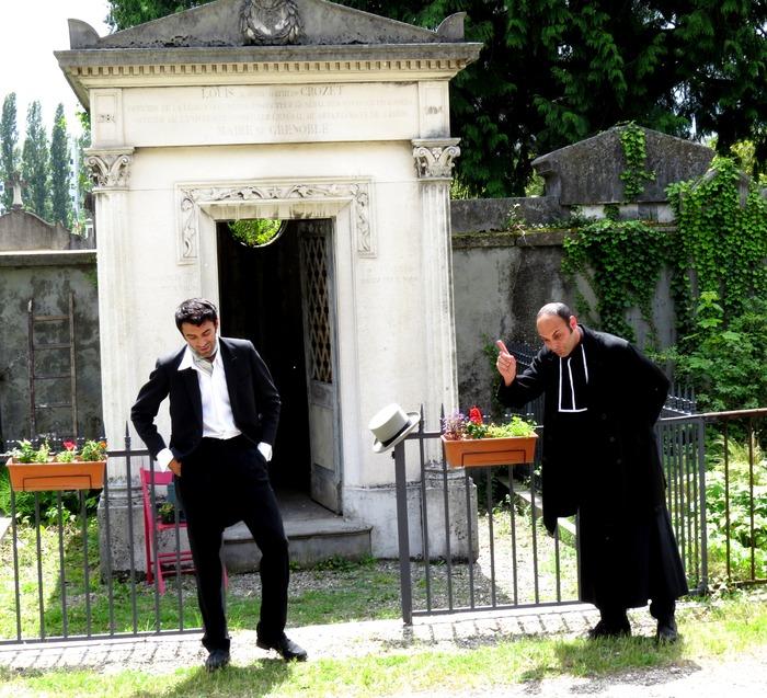 Journées du patrimoine 2018 - Balade théâtralisée «En attendant Stendhal» par la Compagnie du Nid.