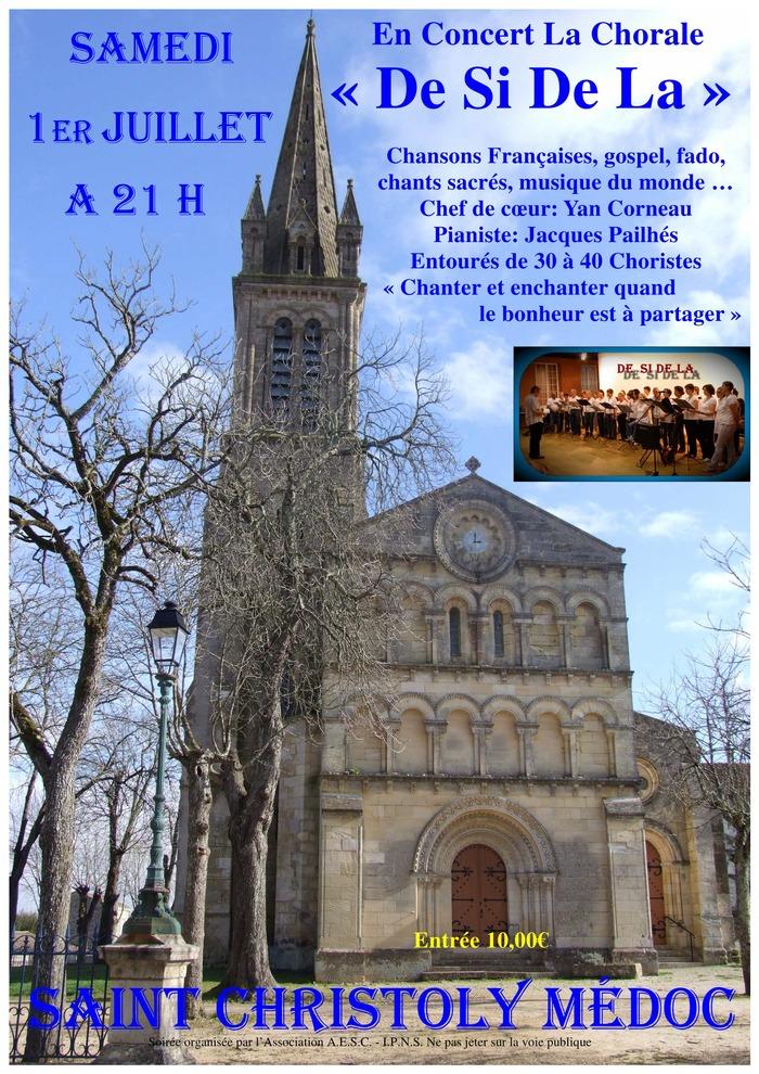 """En concert la chorale """"De Si De La"""""""