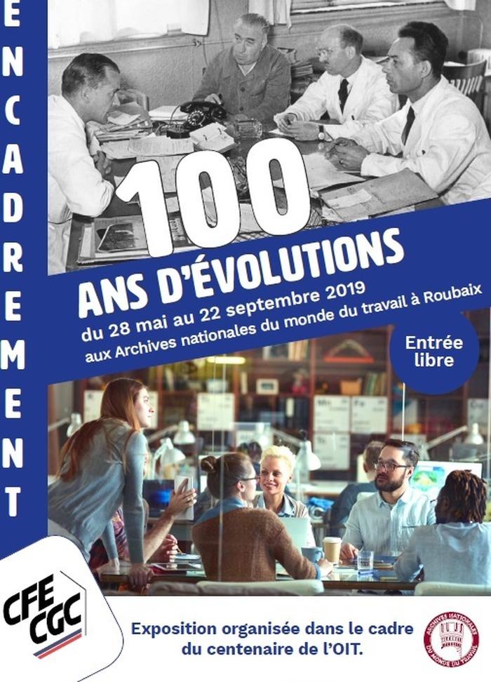 Encadrement, 100 ans d'évolution