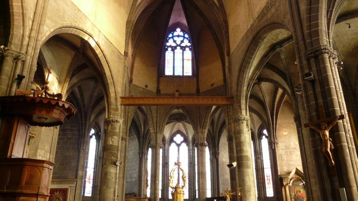Journées du patrimoine 2017 - Ennezat - La collégiale Saint-Victor et Sainte-Couronne