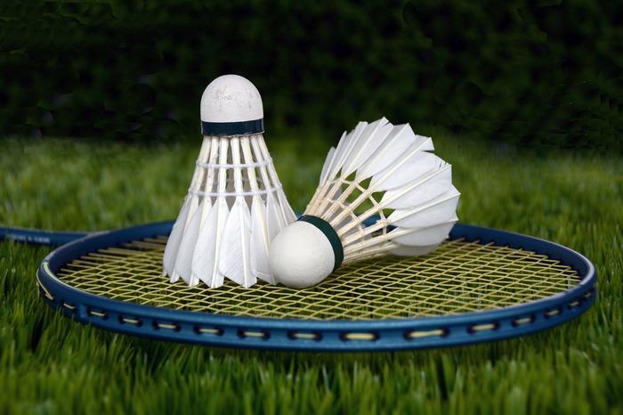 Entraînement de badminton