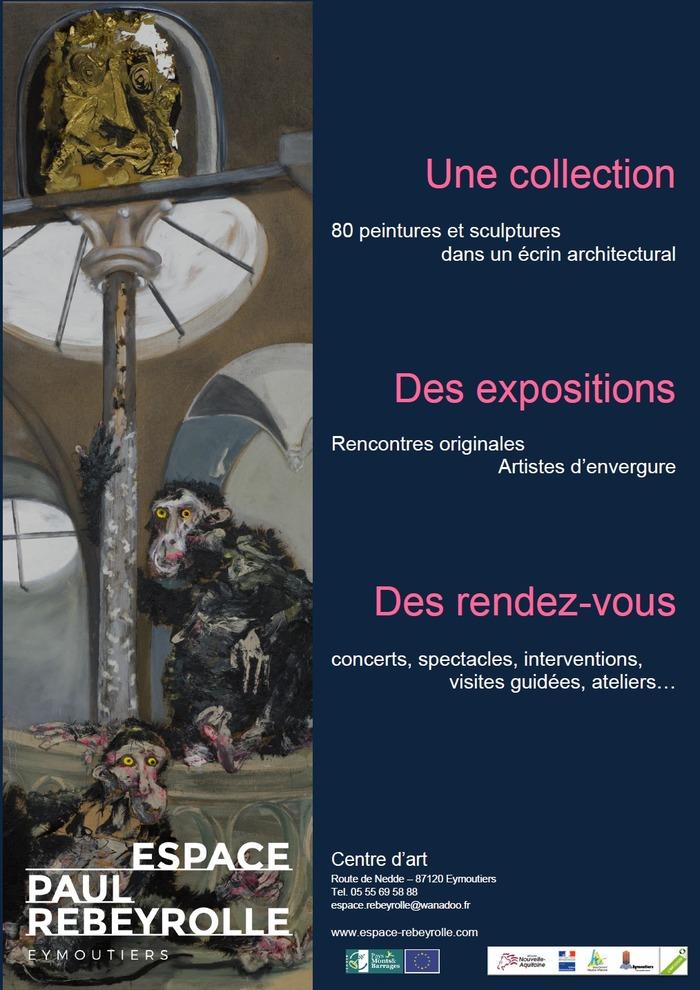 Journées du patrimoine 2018 - À la découverte de l'espace Paul Rebeyrolle