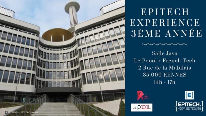 Epitech Expérience 3ème année - Epitech Rennes