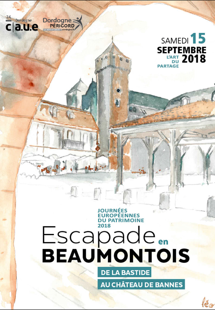Journées du patrimoine 2018 - Escapade en Beaumontois, de la bastide au château de Bannes