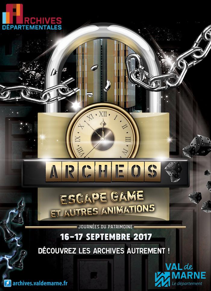 Journées du patrimoine 2017 - Escape game Archéos