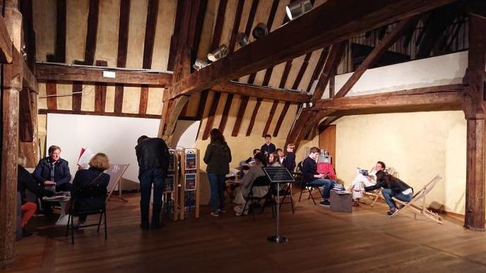 Journées du patrimoine 2018 - Espace de consultation libre de livres d'art et de revues