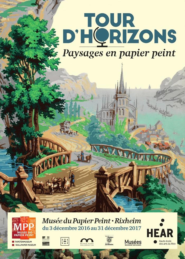 Tour D Horizons Paysage En Papier Peint