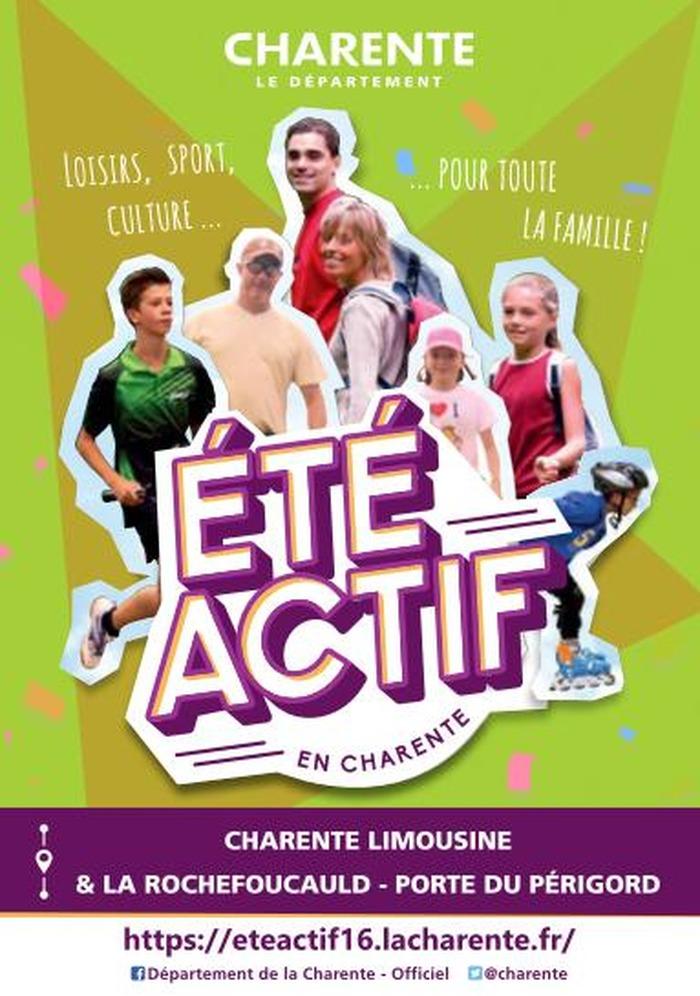 Eté Actif en Charente-Limousine