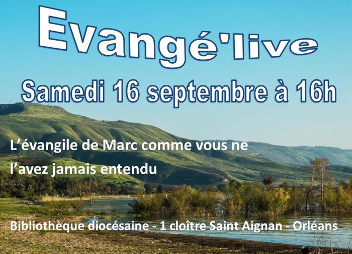 Journées du patrimoine 2017 - Evangé'live