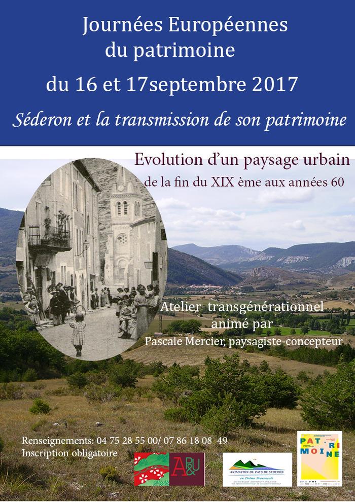 Journées du patrimoine 2017 - Evolution  et transmission d'un village des Baronnies