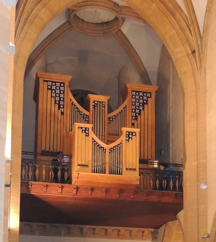 Journées du patrimoine 2018 - Découverte et démonstration de l'orgue de l'église.